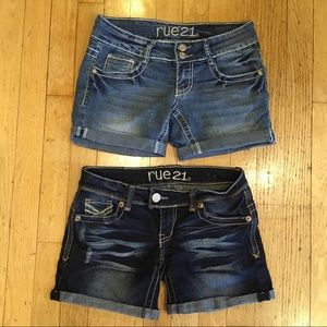Almost new Rue21 shorts